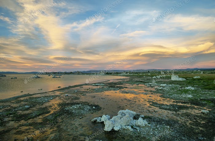 Mono Lake in California, USA