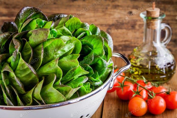 green salad ingredients