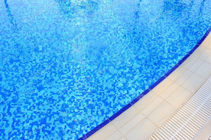 Schwimmbad im Hotel Nahaufnahme