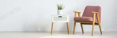 Minimalist photo of chair