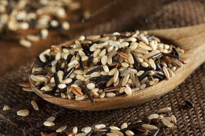 Bio-Trockener Mehrkorn-Reis