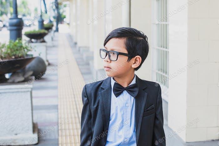 Vintage Asiático Niños
