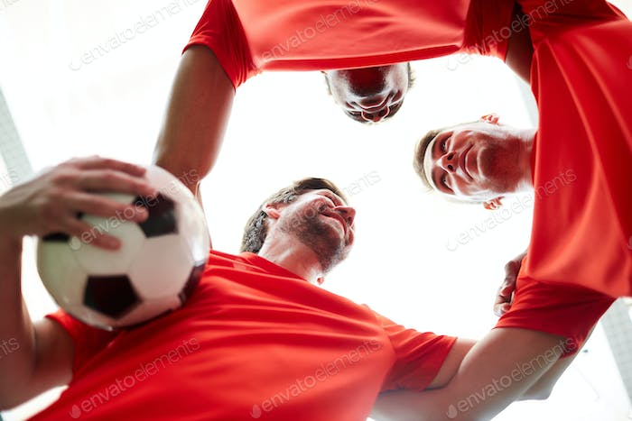 Unity of soccer players