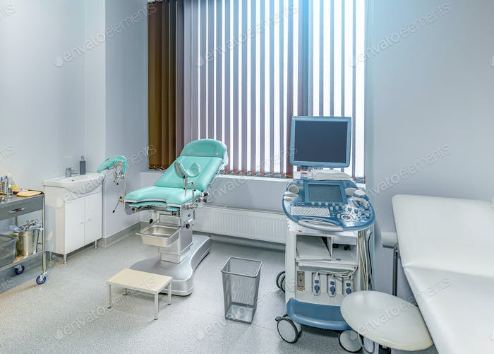 Interior of the genicology clinic