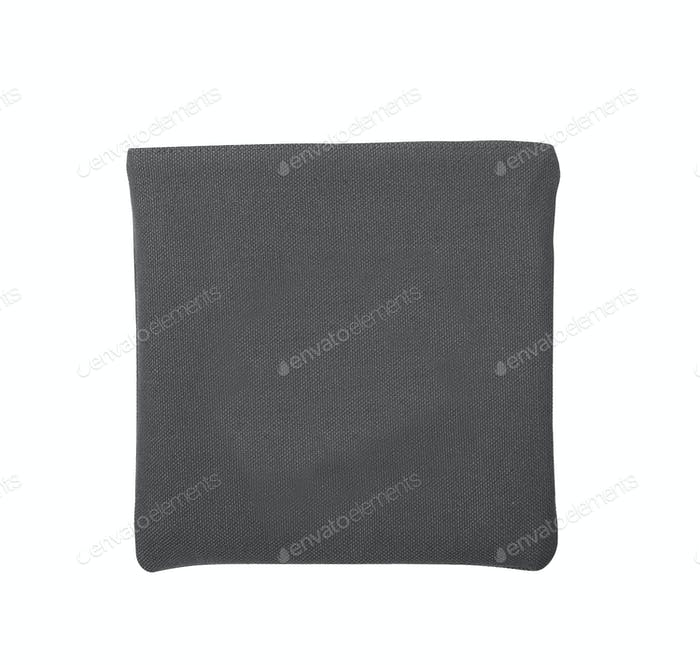 Black bag isolated on white