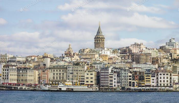 Panorama von Istanbul, Türkei