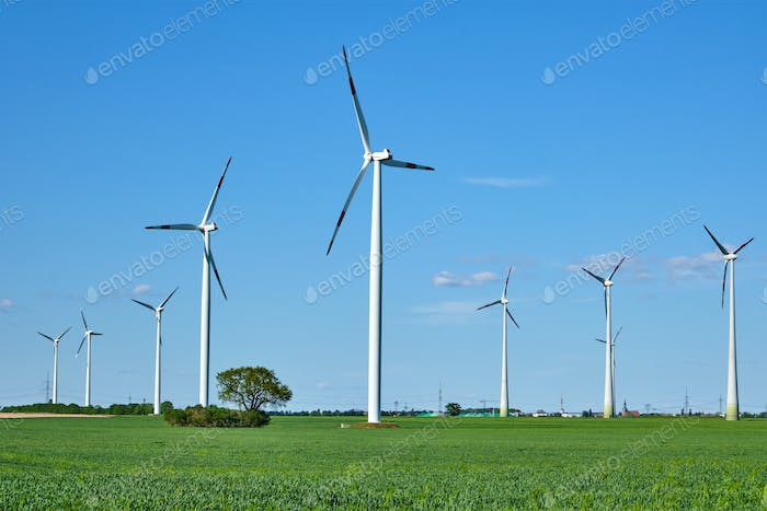 Modern wind energy turbines
