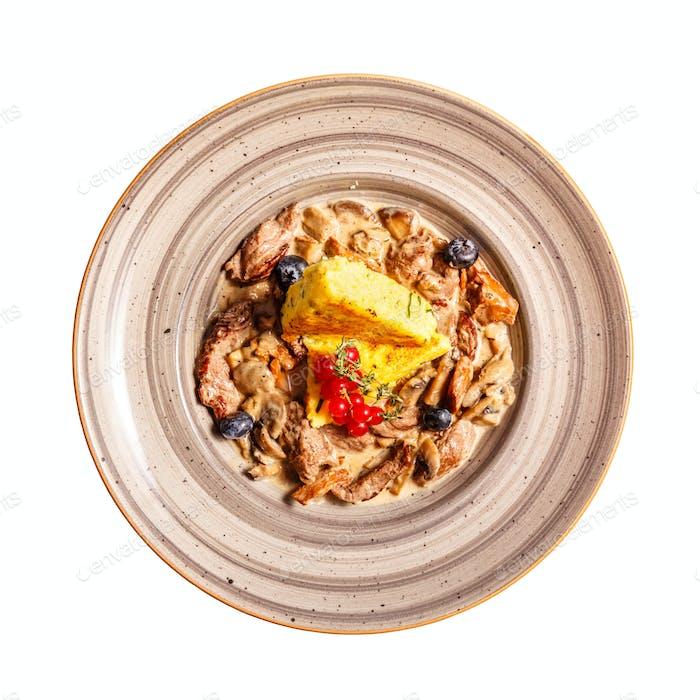 Beef tenderloin stew