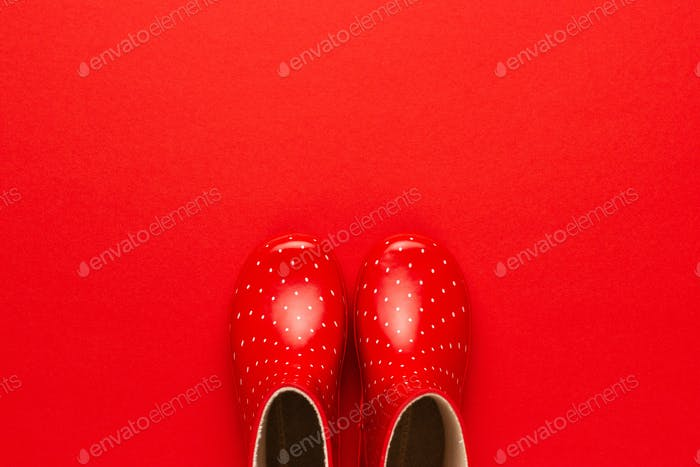 Photo of Red Gumboots