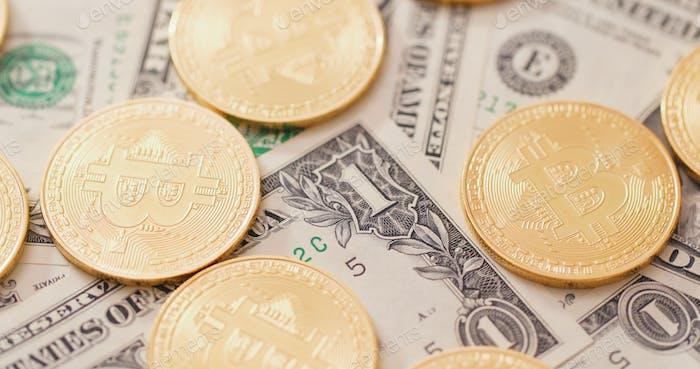 Bitcoin en dólar estadounidense