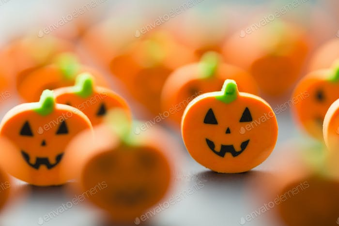 Halloween pumpkins decoration