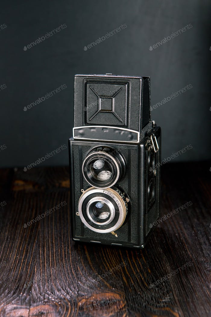 Old Fashion antique camera