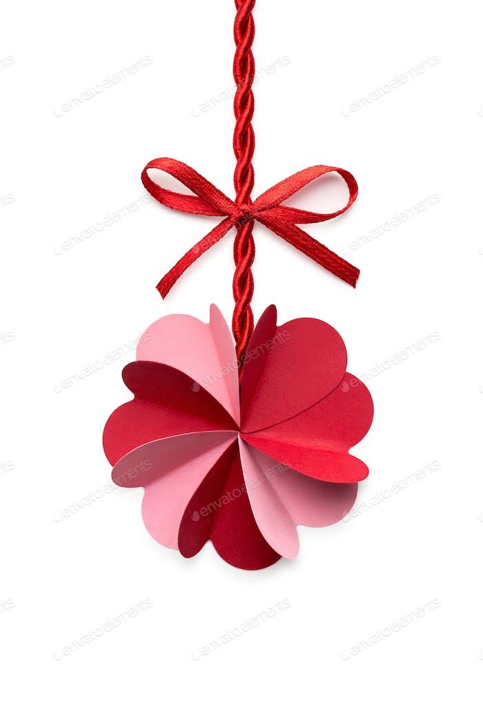 Valentine flower.