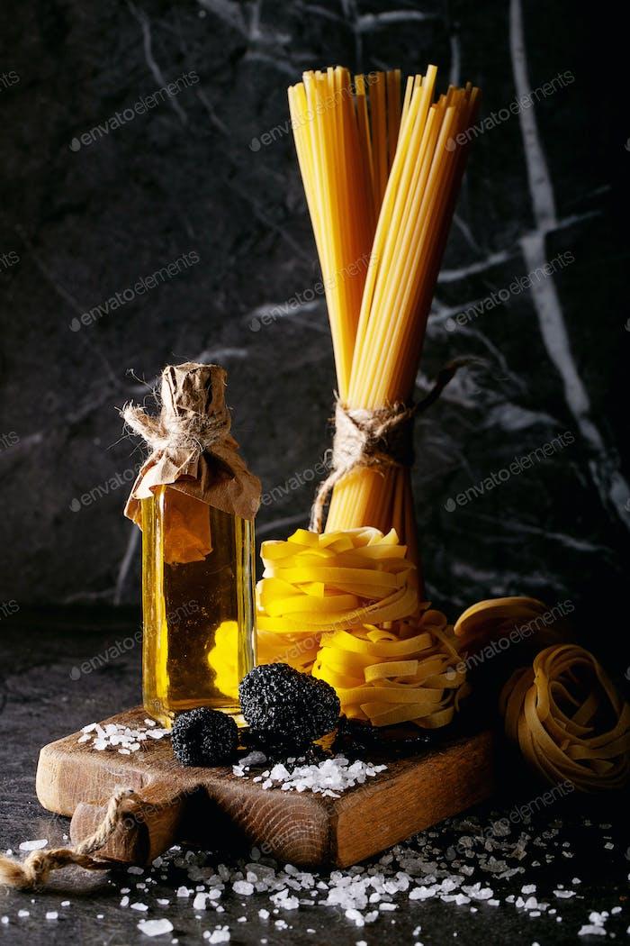 Home made egg pasta