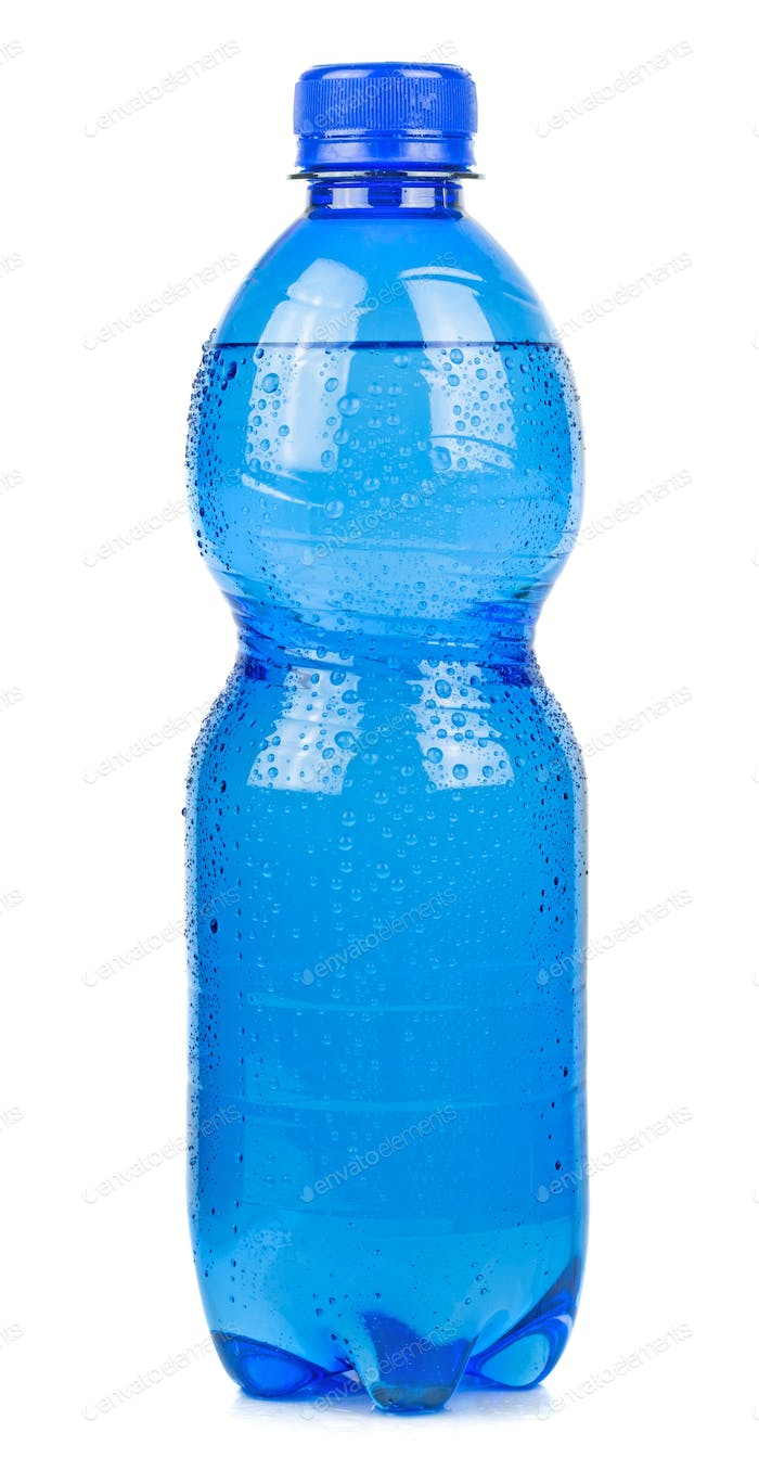 A Blue Bottle of Water