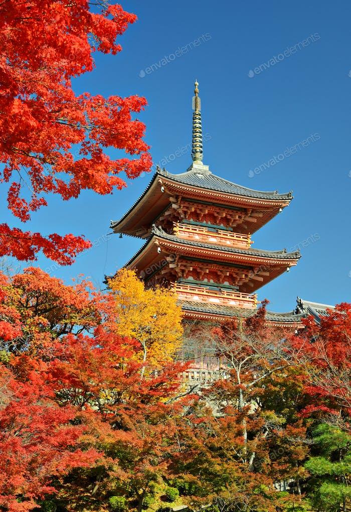 Kiyomizu-dera Pagode