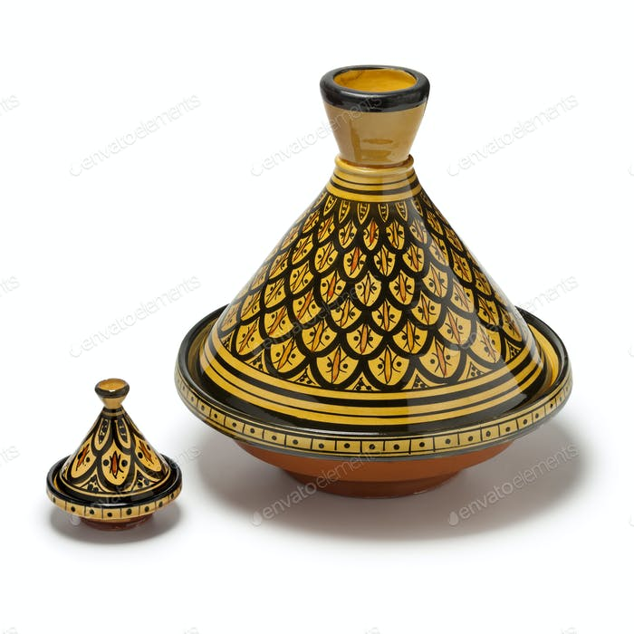 Marokkanische handgefertigte Tajine