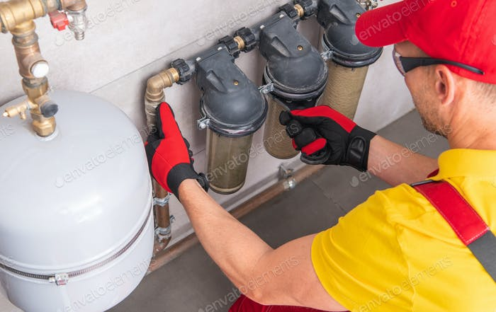 Residential In Line Water Filters Maintenance