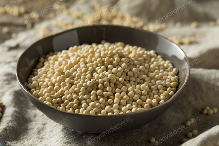Raw Dry Organic Couscous