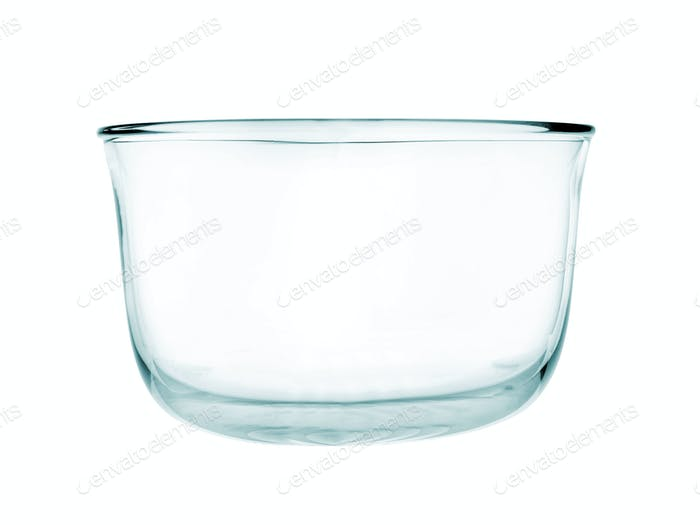 Empty glass pialat isolated