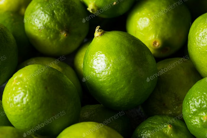 Raw Green Organic Key Limes