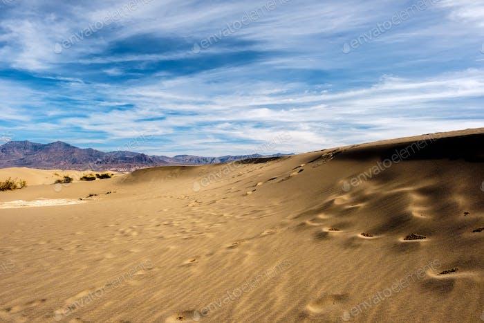 Death Valley National Park, Mesquite Dünen