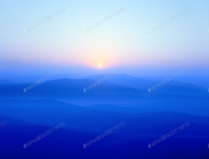 Blue Ridge Berge