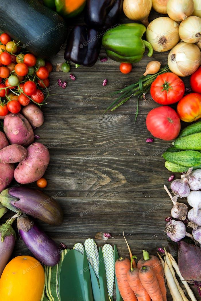 Fresh Organic Vegetable