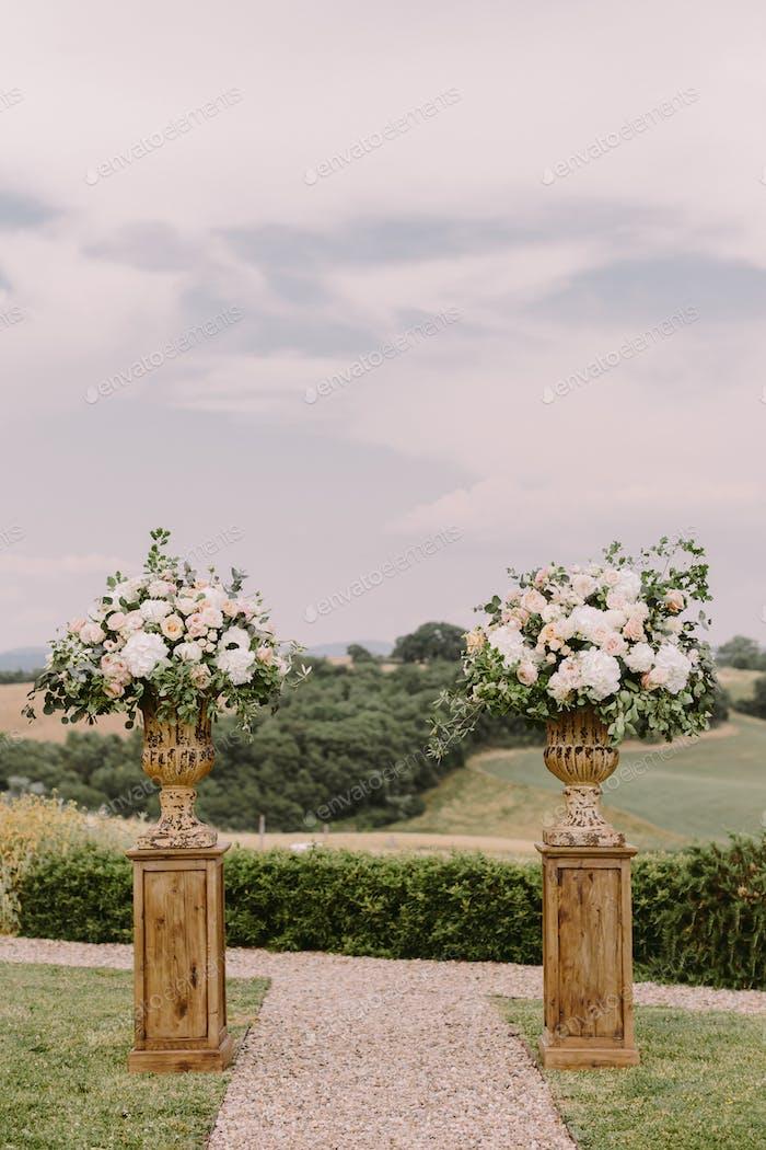 шикарное свадебное место в Тоскане Италия