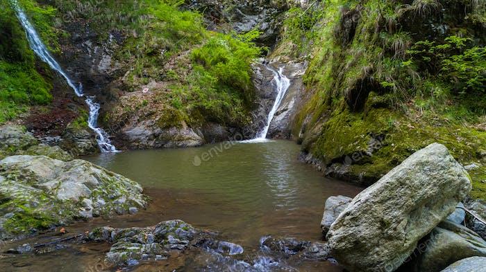 Valea lui Stan canyon and river in Romania