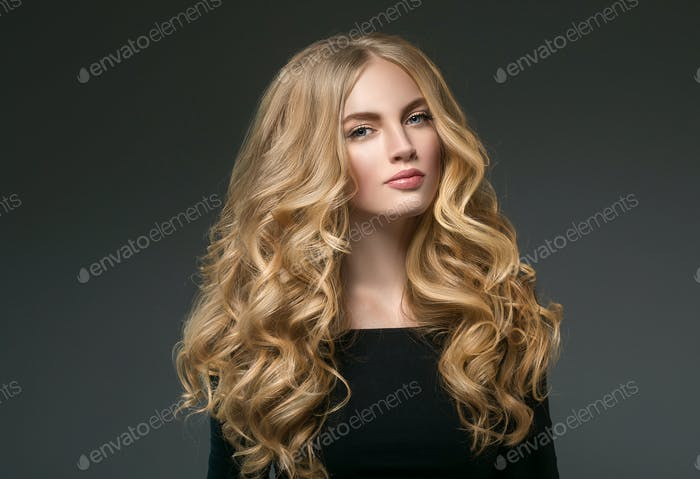 Beauty Woman face Portrait Beautiful Spa model Girl with Perfect Clean Skin. Shampoo
