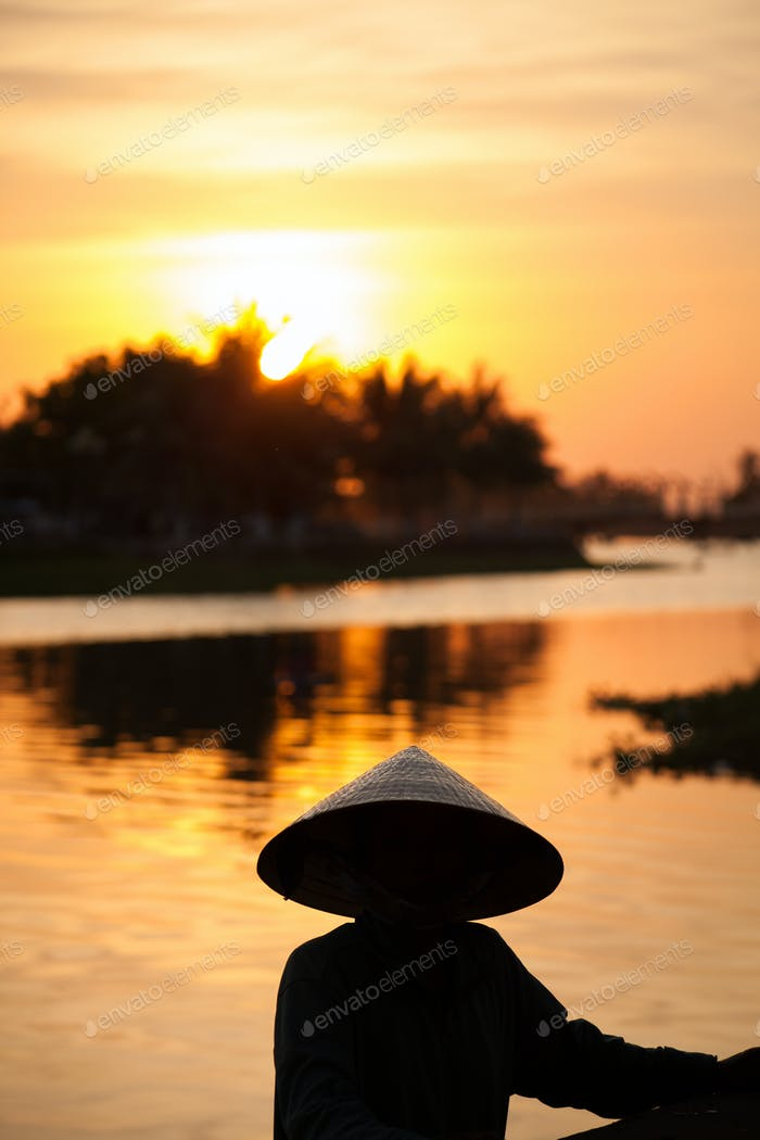 Vietnamese sunset