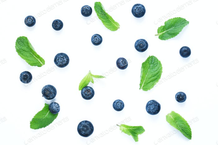 Berries of Blueberries