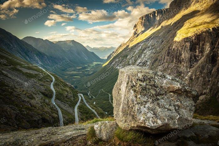 Famous Trollstigen Road