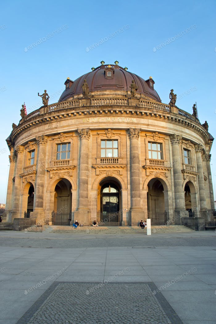 The famous Bodemuseum in Berlin