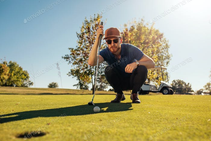Anticipation of the perfect putt