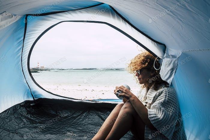 Alternative travel lifestyle adventure