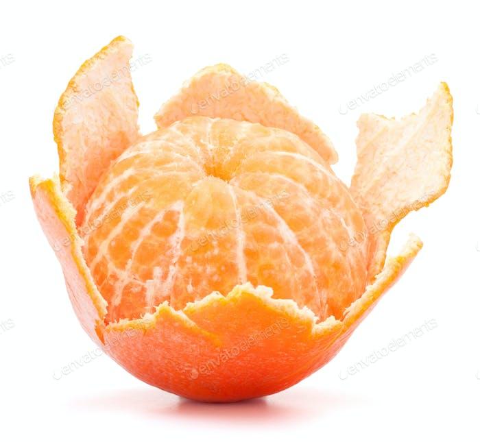Geschälte Mandarine oder Mandarine Früchte