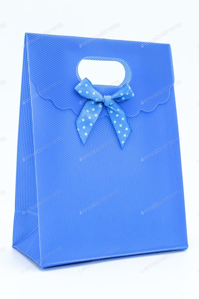Blau Geschenktüte