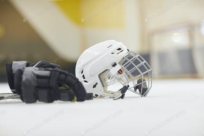Hockey Equipment Background