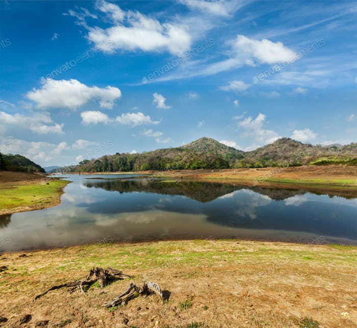 Periyar Wildlife Sanctuary, Indien