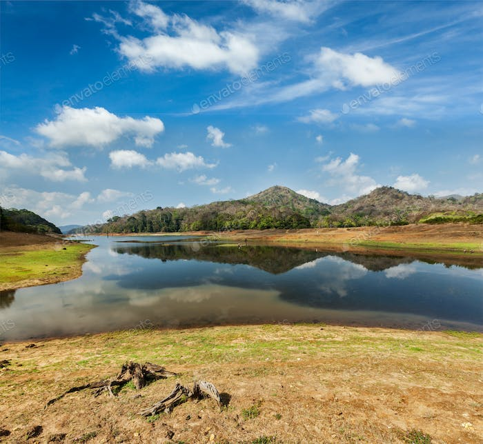 Periyar wildlife sanctuary, India