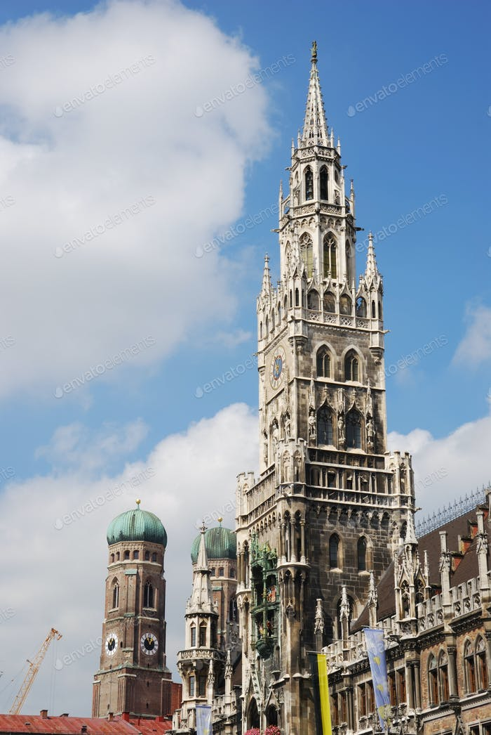 City house of Munich