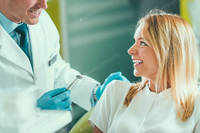 Dental Check-up In Clinic