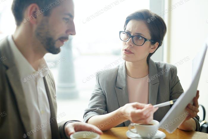 Negociación con el socio
