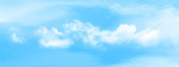 Abstract wide sky backdrop