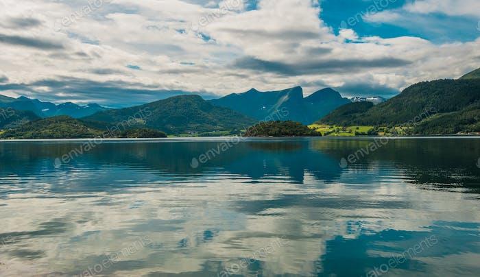 Norwegian Nature Landscape