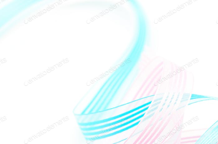ribbon isolated