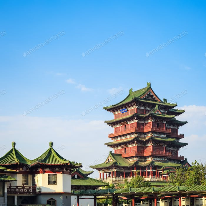 nanchang tengwang pavillon closeup