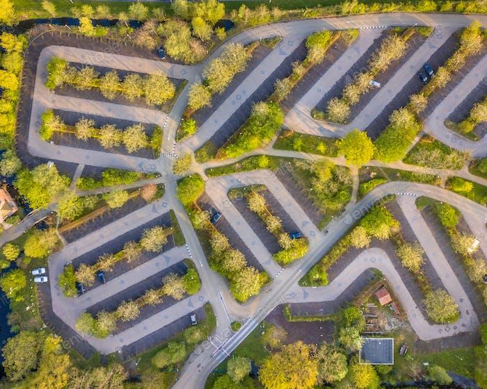 Ökologischer Parkplatz Antenne